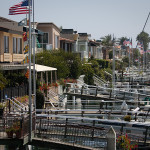Homes on Lido Island in Newport Beach