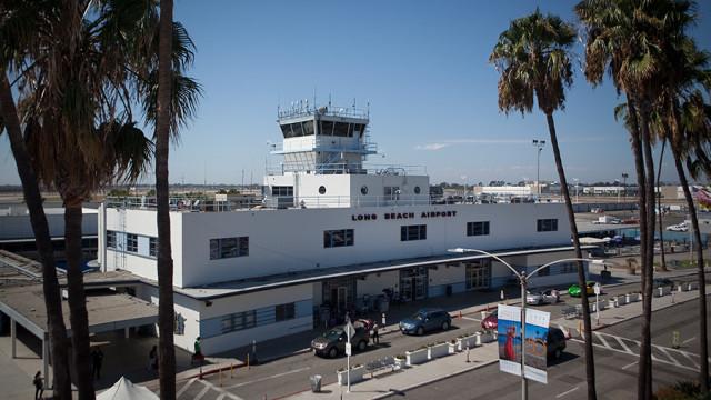 The Long Beach Airport. Photo by John Schreiber.