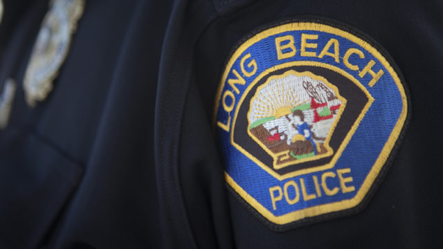long beach police patch