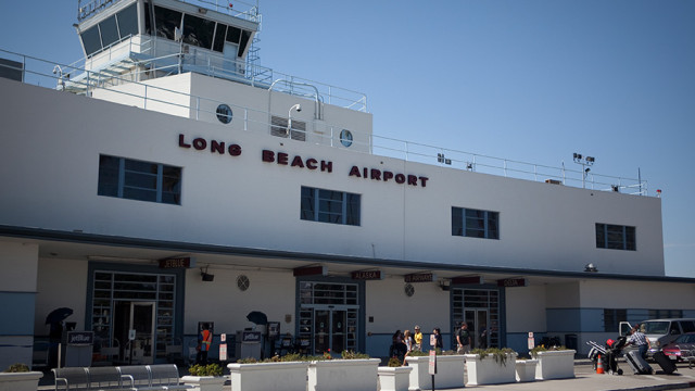 Long Beach Airport. Photo by John Schreiber.