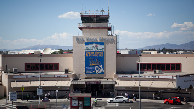 Bob Hope Airport in Burbank. Photo by John Schreiber.