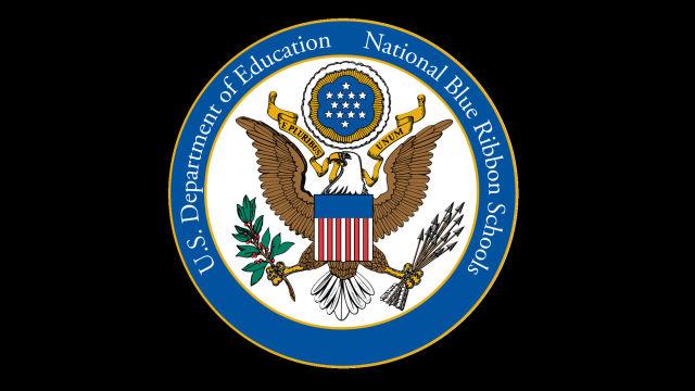 National Blue Ribbon School logo. Courtesy U.S. Department of Education.