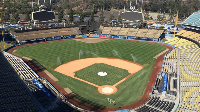 Dodger Stadium. Photo by John Schreiber.