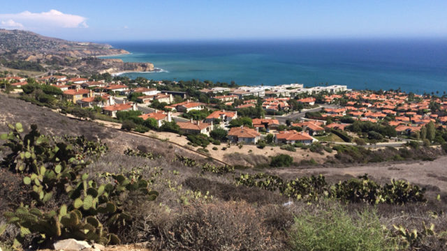 The Rancho Palos Verdes coastline. Photo by John Schreiber.