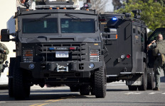 Los Angeles County Sheriff's Department SWAT Team. Photo by John Schreiber.