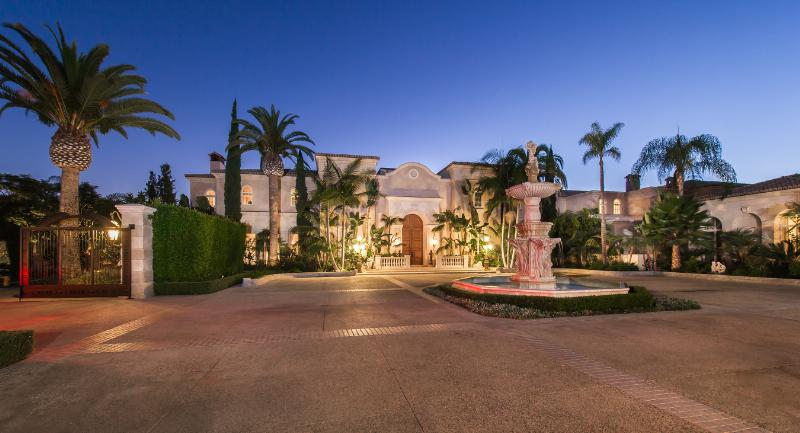 Rare 25-Acre Gated Mediterranean Compound in Beverly Hills. Photo via PRNewsFoto/Coldwell Banker Real Estate LLC.