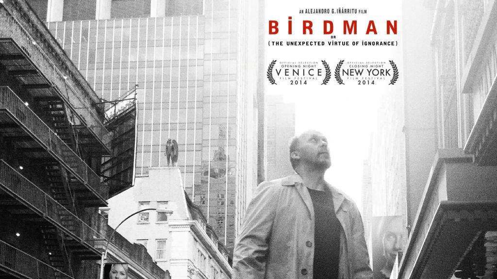 """Birdman"" poster. Courtesy Fox Searchlight Pictures, via EPK.tv"