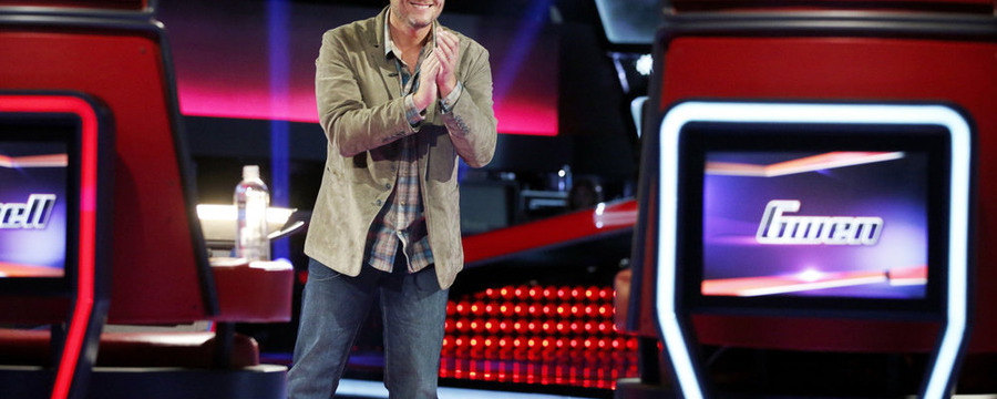 "Blake Shelton on ""The Voice. Photo by Trae Patton/NBC"