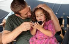 Paul Walker with daughter
