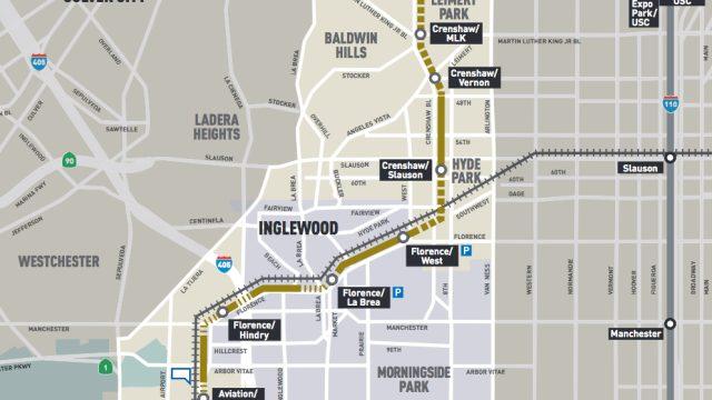 Crenshaw/LAX Line Metro