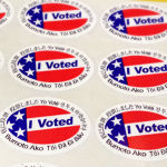 voter stickers