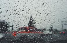 rain pelts Southern California