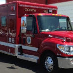 Costa Mesa fire-rescue vehicle