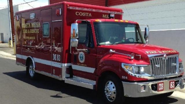 Costa Mesa fire-rescue vehicle