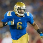 UCLA linebacker Erick Kendricks, winner of The Lott IMPACT Trophy. Photo courtesy Pacific Club IMPACT Foundation