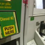 Diesel gas pump