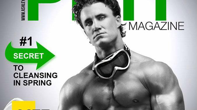 Greg Plitt on the cover of Phit Magazine. Courtesy image