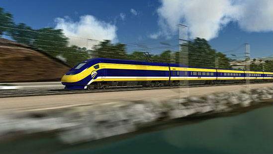 Photo via California High-Speed Rail Authority