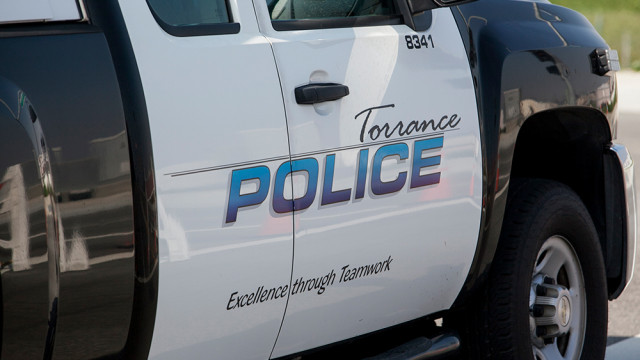 Torrance Police Department car. Photo by John Schreiber.