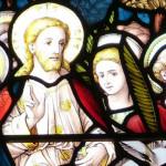 Church leaded glass