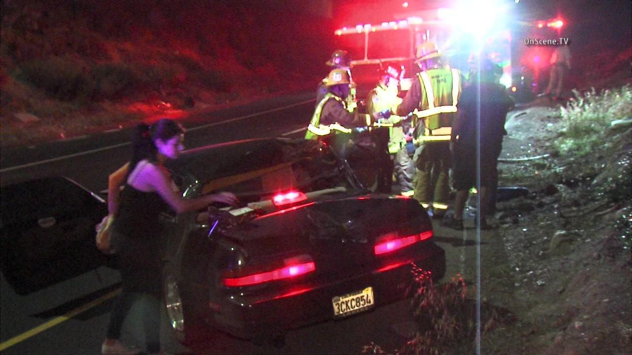 Freeway Car Accident Drunk Driver