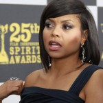 "Taraji P. Henson, the Oscar-nominated star of ""Empire,"" on the red carpet at the 2010 Independent Spirit Awards."