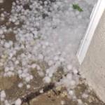 hail in LA