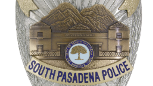 south pasadena police badge