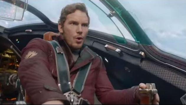 "Chris Pratt in Marvel's ""Guardians of the Galaxy."""
