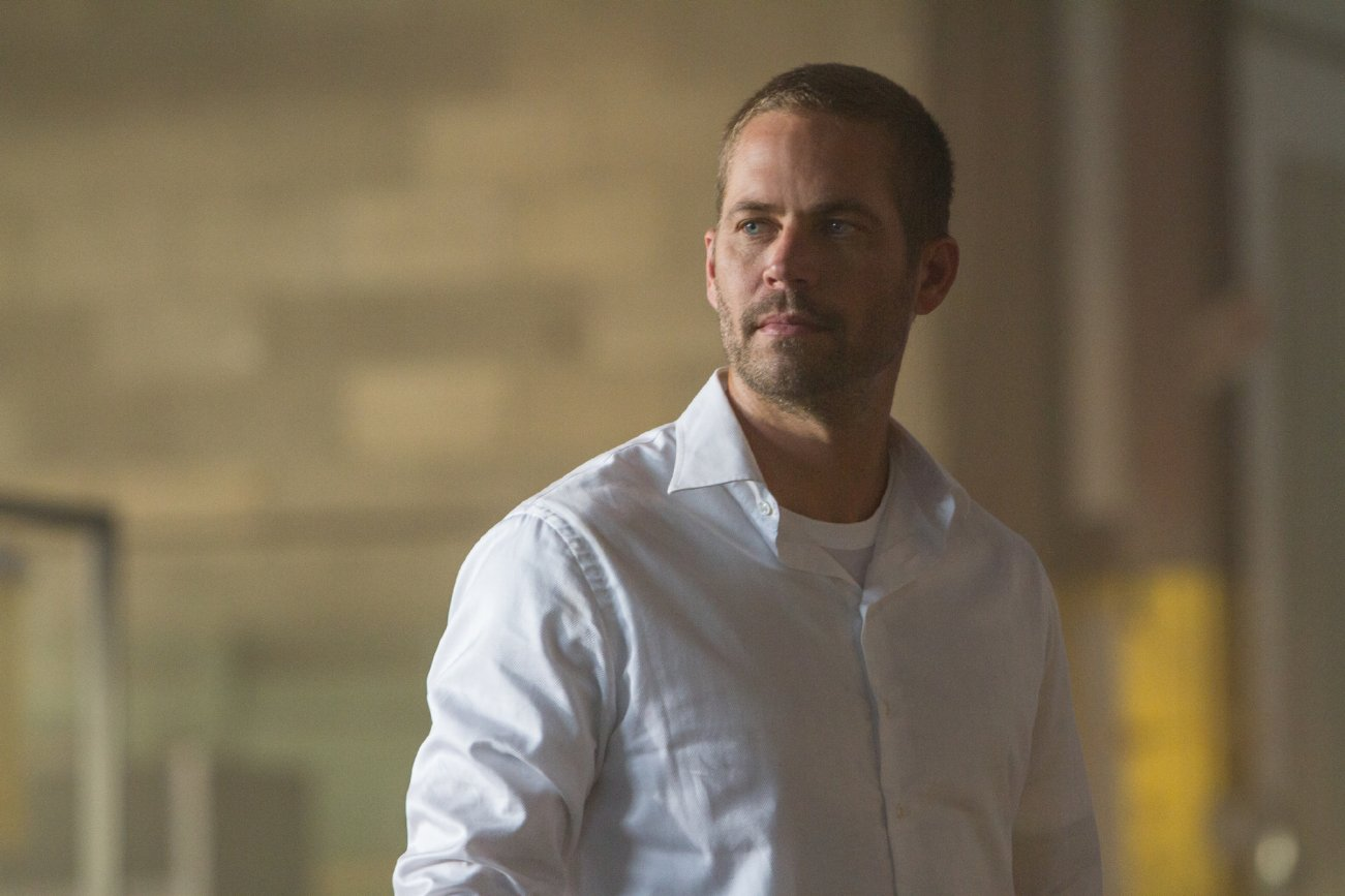Still of Paul Walker in 'Fast & Furious 7.' Photo credit: Scott Garfield / Universal Pictures