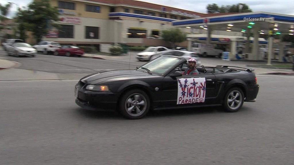 The slow-moving DUI suspect. Courtesy OnScene.TV