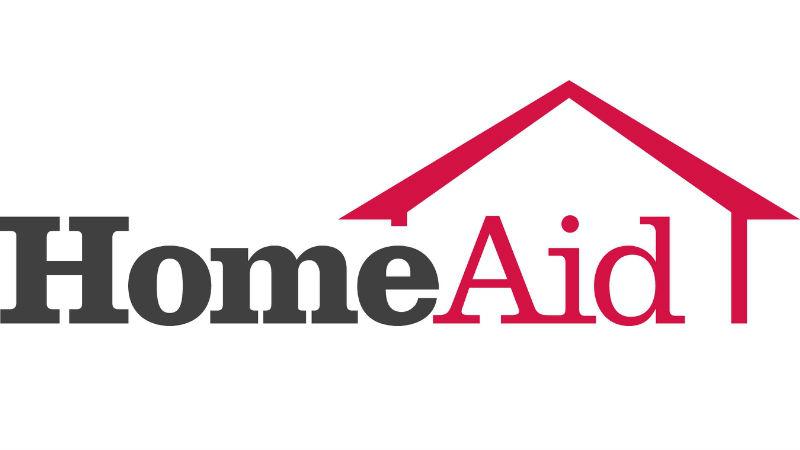 HomeAid America logo. Photo via PRNewsFoto/loanDepot LLC,HomeAid America.