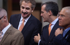 City Attorney Feuer and Mayor Garcetti