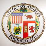 The seal of the city of Los Angeles