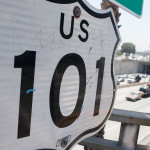 101 freeway sign