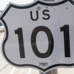A 101 Freeway sign. File photo.