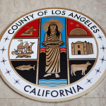 The official Los Angeles County seal. MyNewsLA.com Photo