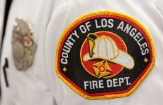 LA County Fire patch