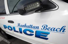 Manhattan Beach police cruiser