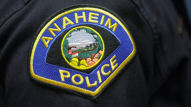 Anaheim Police Department logo. Photo by MyNewsLA.com
