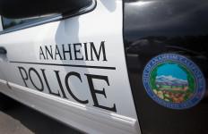 Anaheim police cruiser