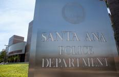 santa ana police sign