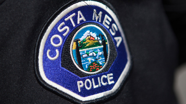 Costa Mesa Polce patch