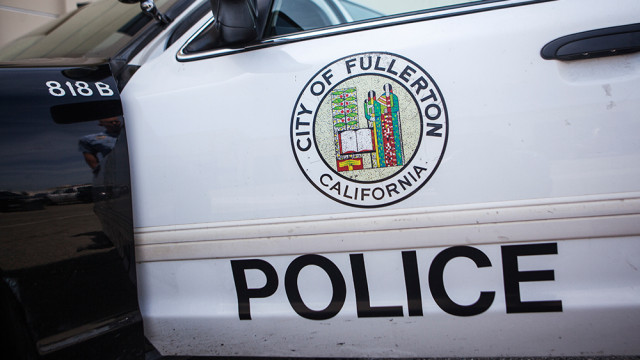 Fullerton Police Department. MyNewsLA.com photo.