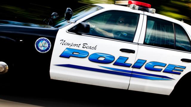 newport beach police car