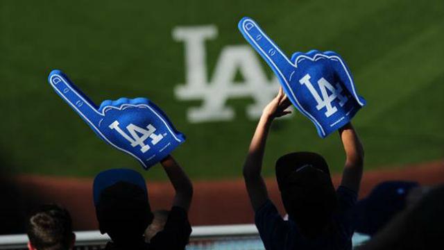 Los Angeles Dodgers fans