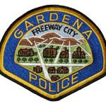 Gardena Police patch