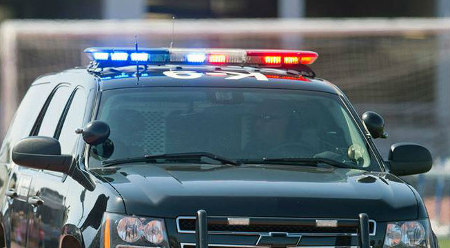 LAPD police cruiser. Photo courtesy the LAPD