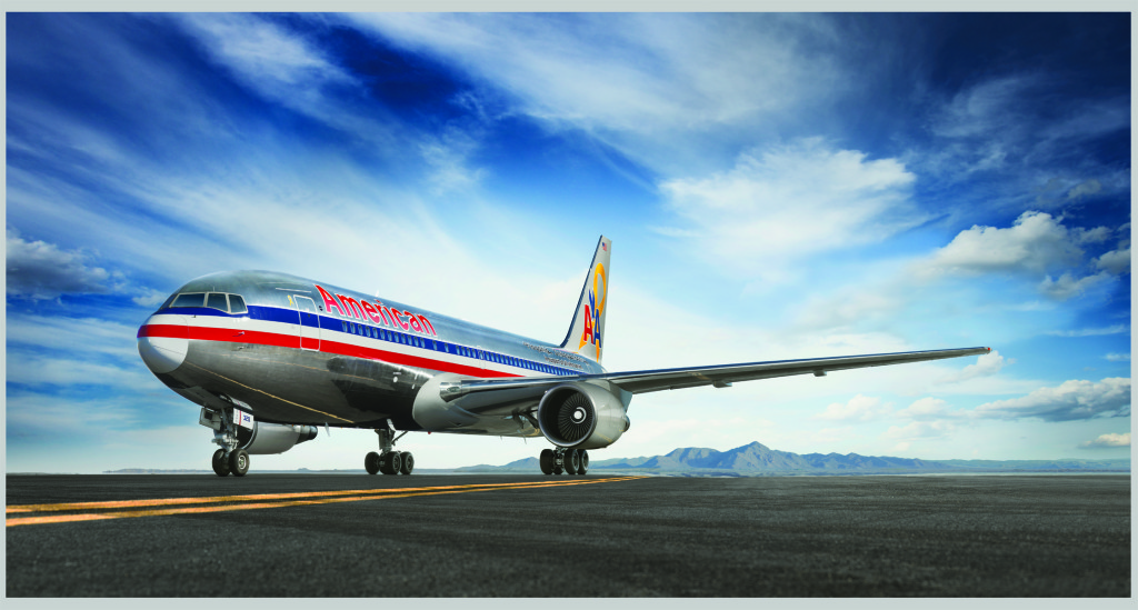 American Airlines Boeing 767. Courtesy photo