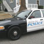Monterey Park police cruiser